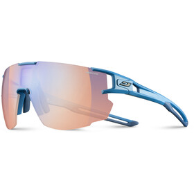 Julbo Aerospeed Zebra Light Red Sunglasses cyan blue/multilayer blue